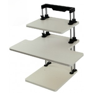 Height Adjustable Sit-Stand Computer Desk  SSD-3HW